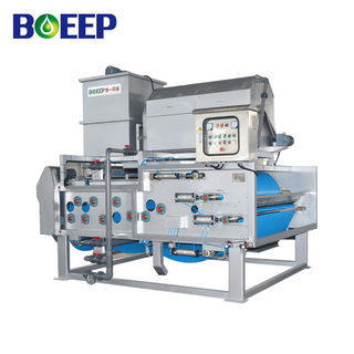 Membrane Sludge Belt Filter Press with Rotary Press Thickening for Industrial Effluent