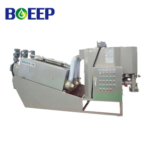 Full Automatic Pre-thickening Volute press Dehydrator for Oily Sludge
