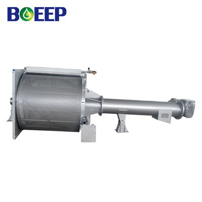 Inclined Rotary Drum Screening Machine for Sewage Preliminary Treatment