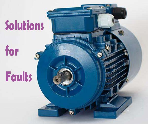 Solutions for Motor Faults